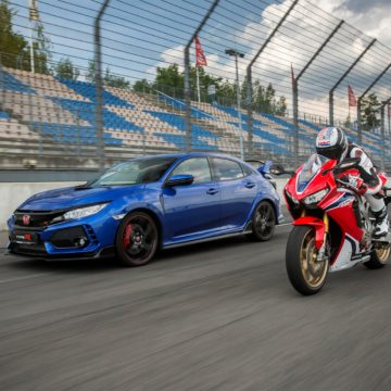 HONDA CELEBRATES 25 YEARS OF TYPE R AND FIREBLADE