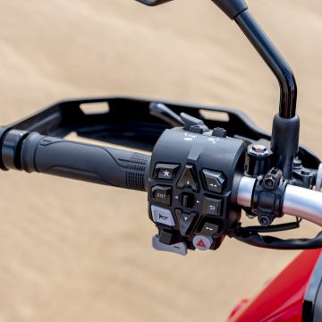 20YM Africa Twin Left Switch